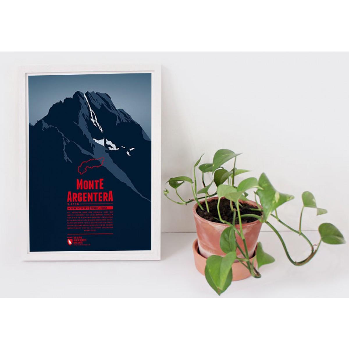 Monte Argentera - Bergdruck