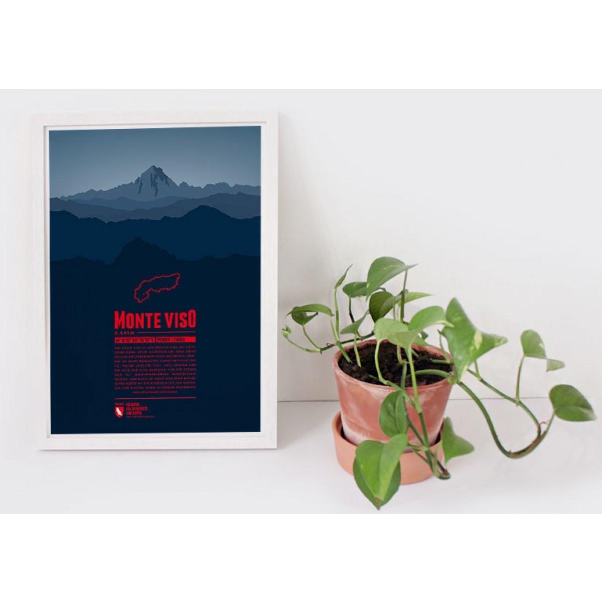 Monte Viso - Bergdruck