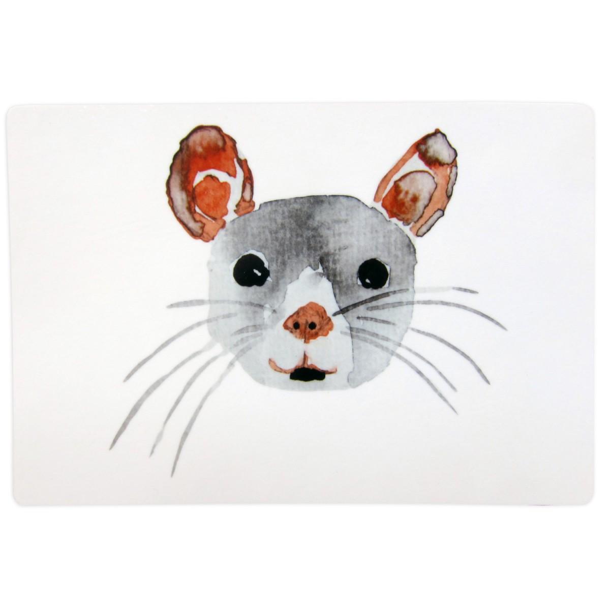 nuukk – Kleines Schneidebrett Maus