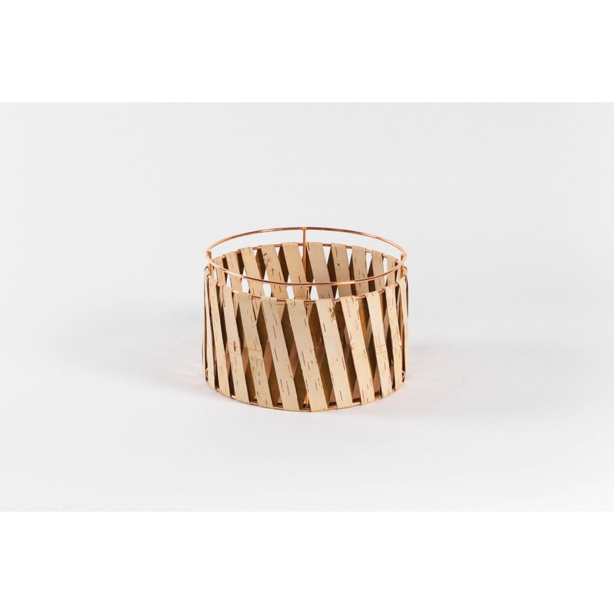 MOYA Körbe aus Birkenrinde Korob BA25 | Copper | Size M