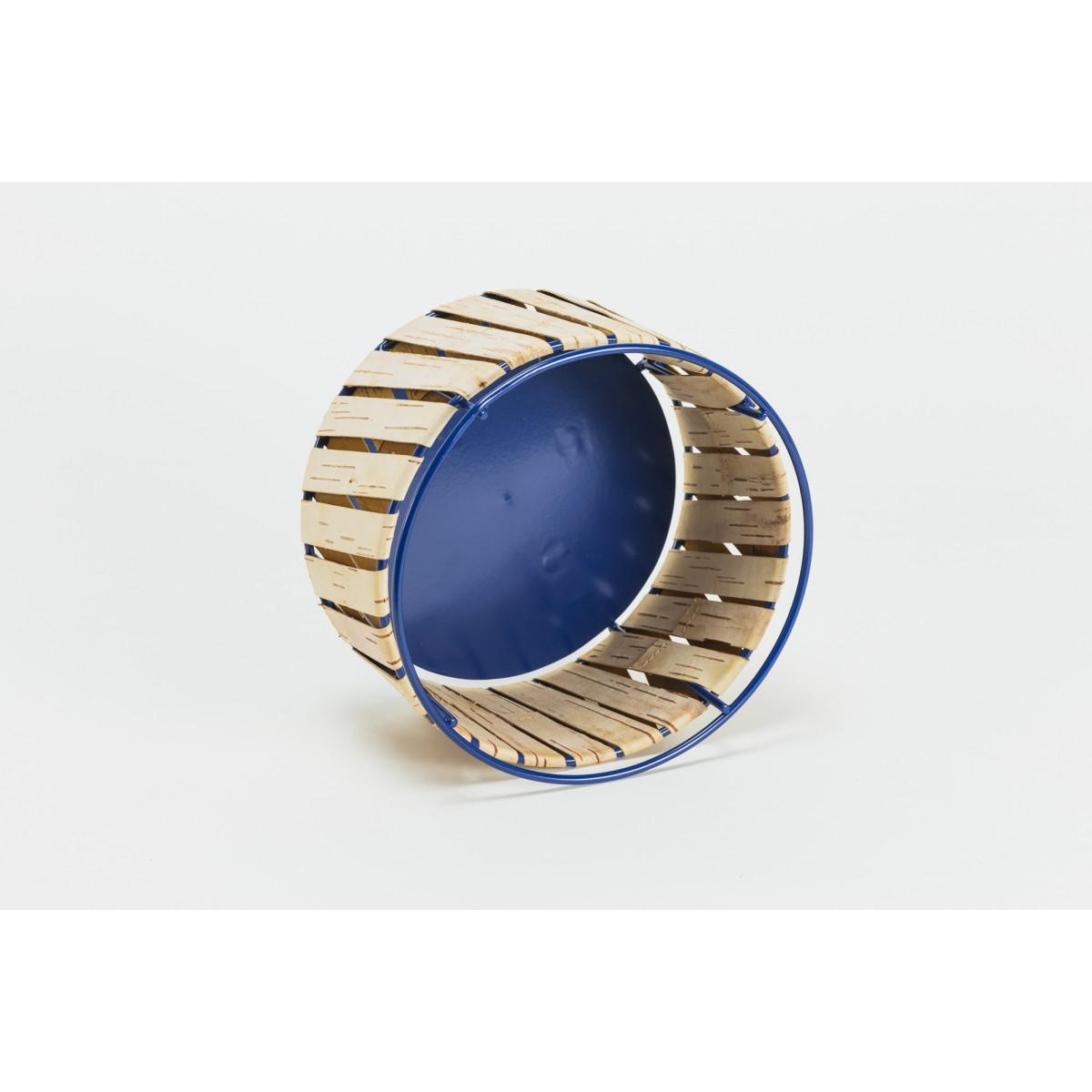 MOYA Körbe aus Birkenrinde Korob BA25 | Blue | Size M