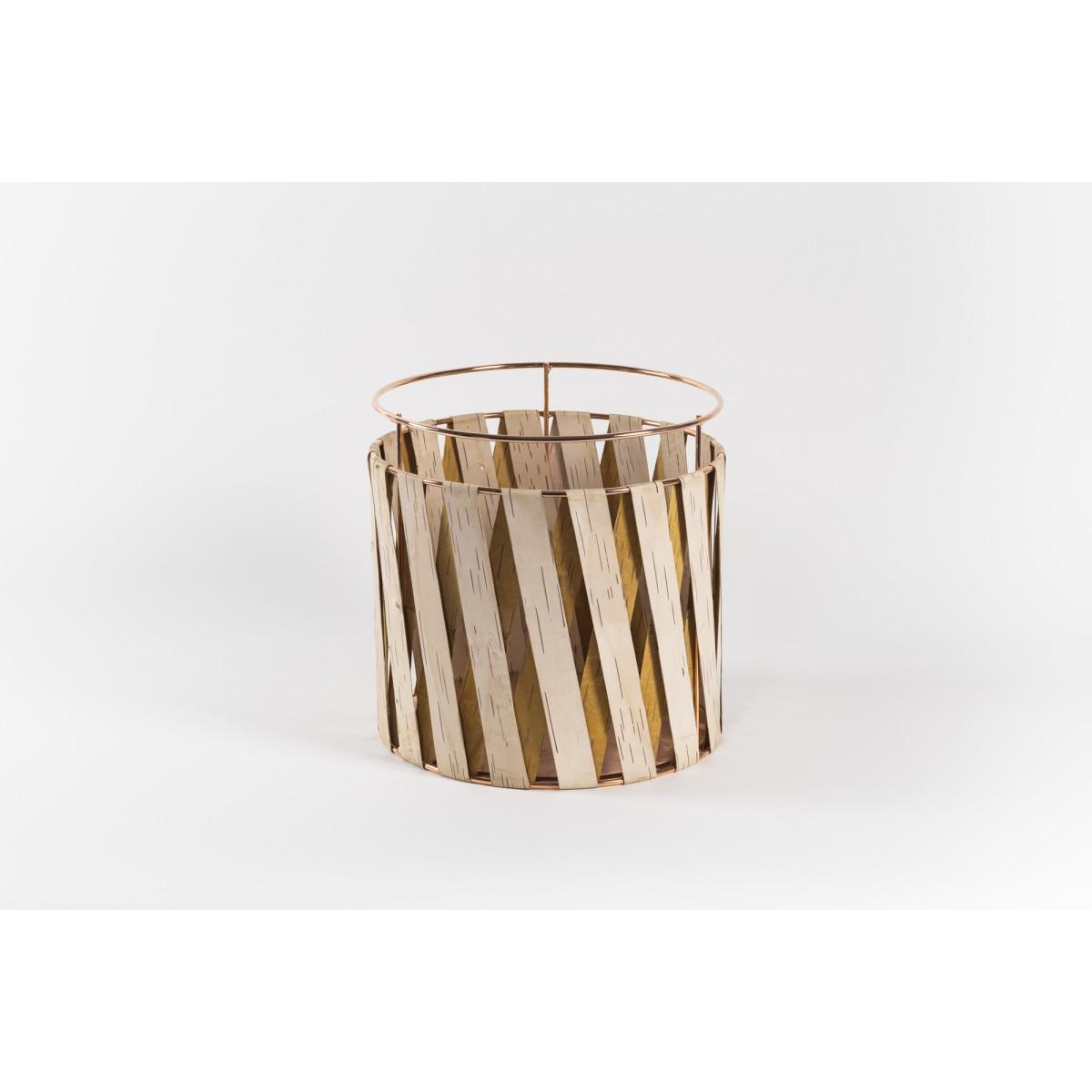 MOYA Körbe aus Birkenrinde Korob BA35 | Copper | Size L