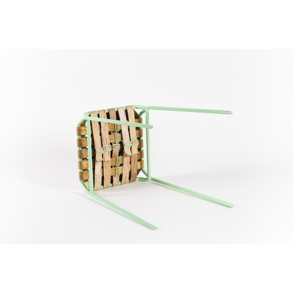 MOYA Hocker aus Birkenrinde Taburet | Stool