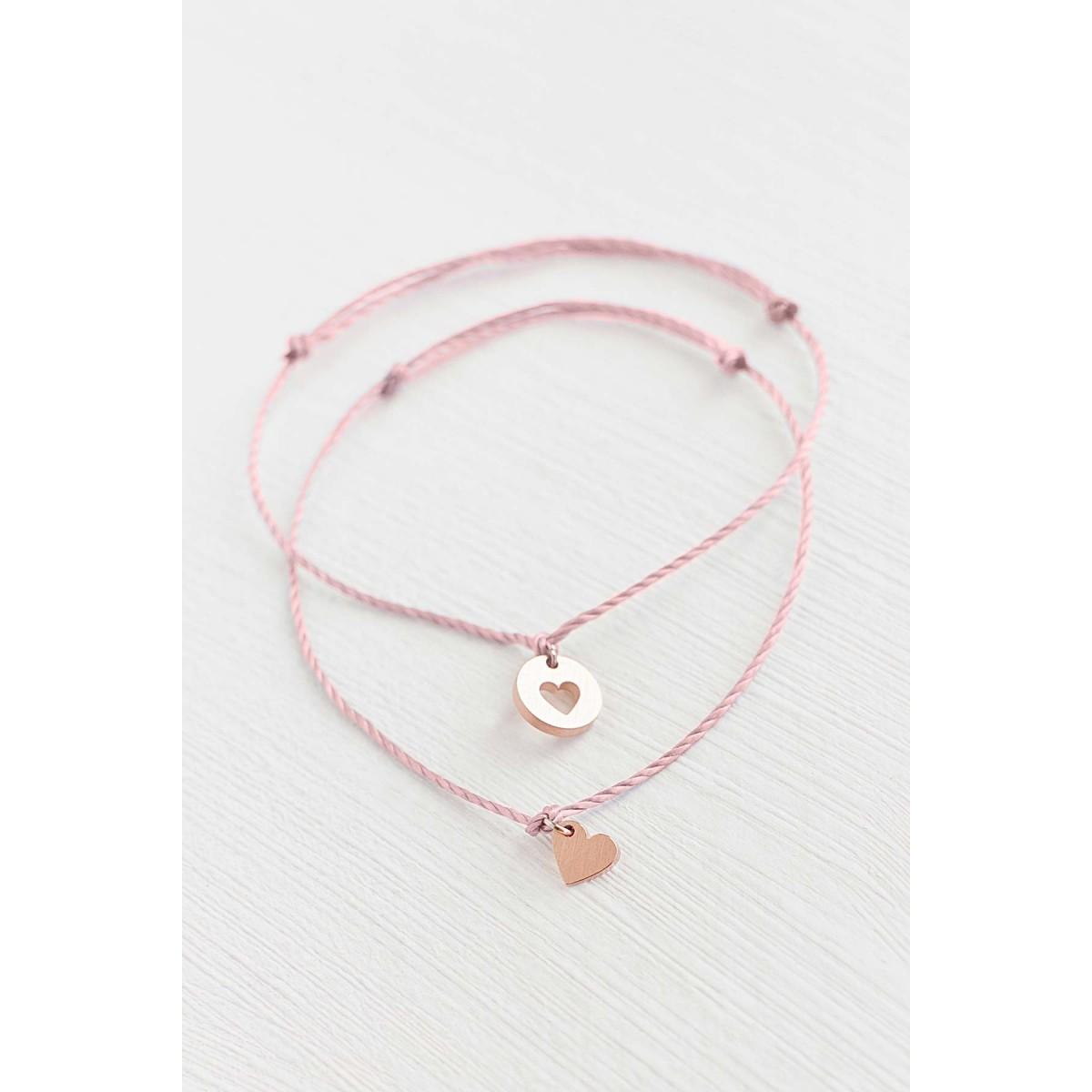 Oh Bracelet Berlin - 2er-Set: Armband »Mutter & Tochter für immer« Farbe Rosé-gold