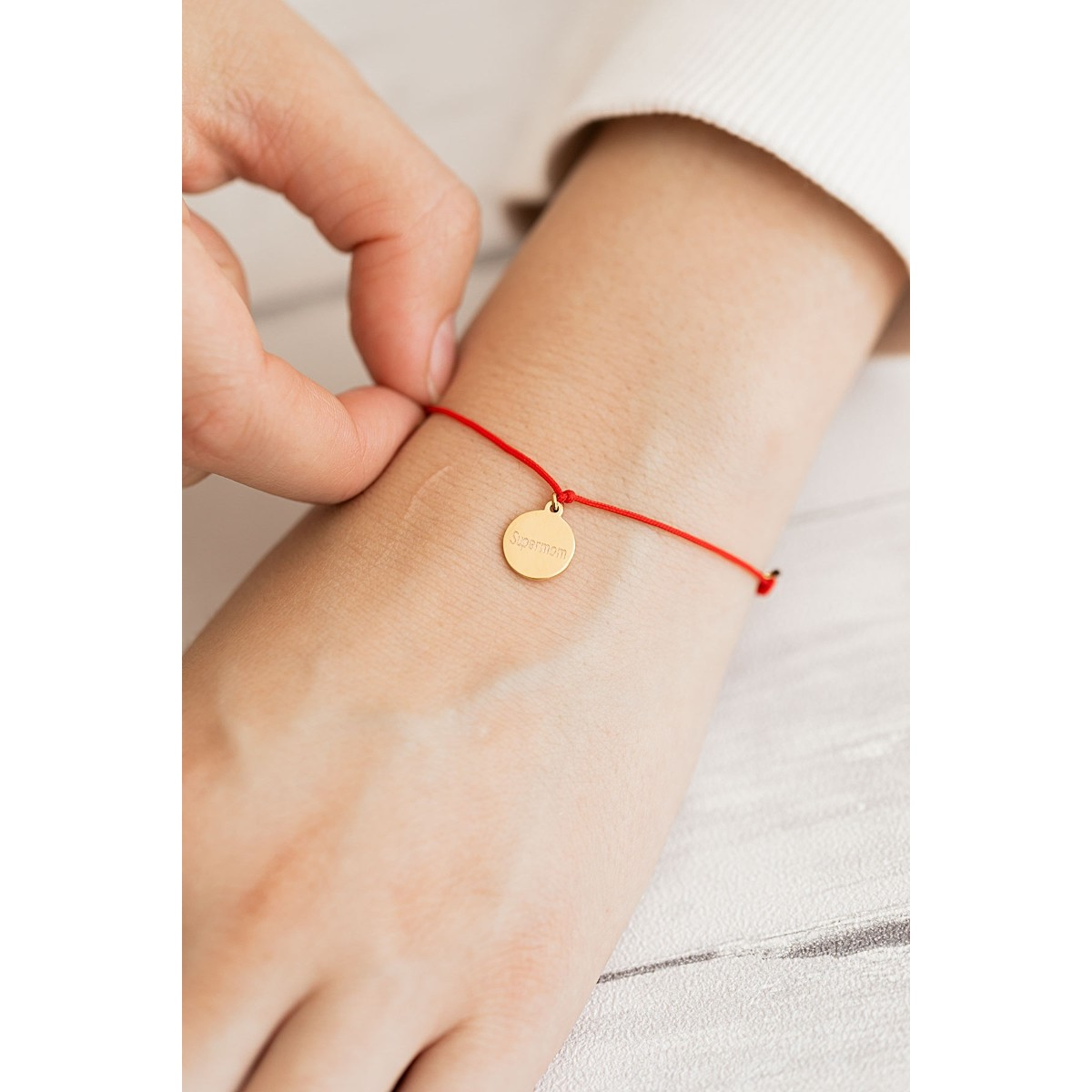 Oh Bracelet Berlin - Armband »Supermom« Farbe Roségold