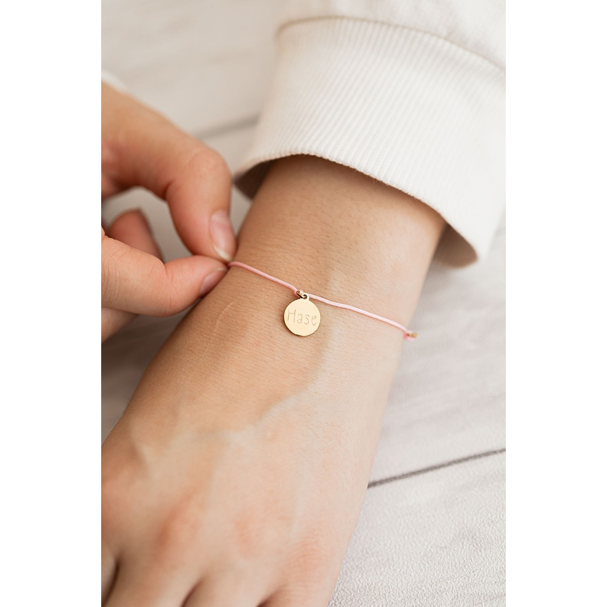 Oh Bracelet Berlin - Armband »Hase« Farbe Gold