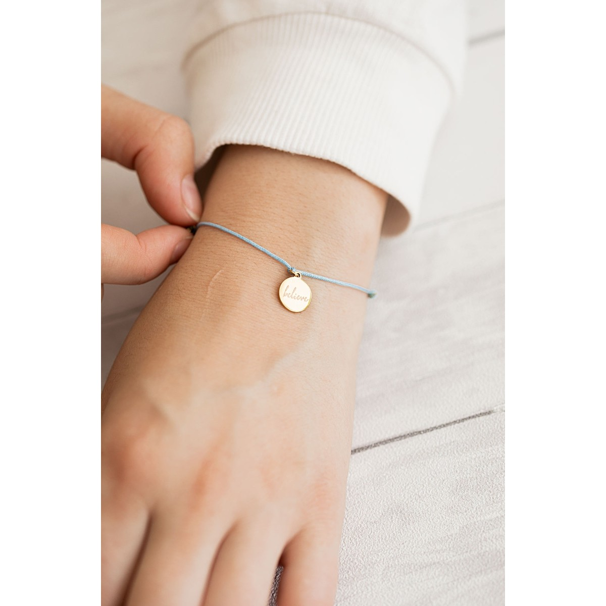 Oh Bracelet Berlin - Armband »Believe« Farbe Roségold