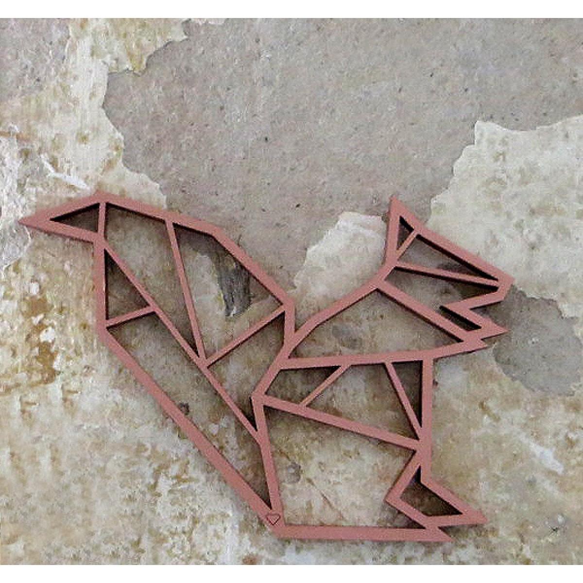 NOGALLERY Eichhörnchen - Holz Motiv Deko