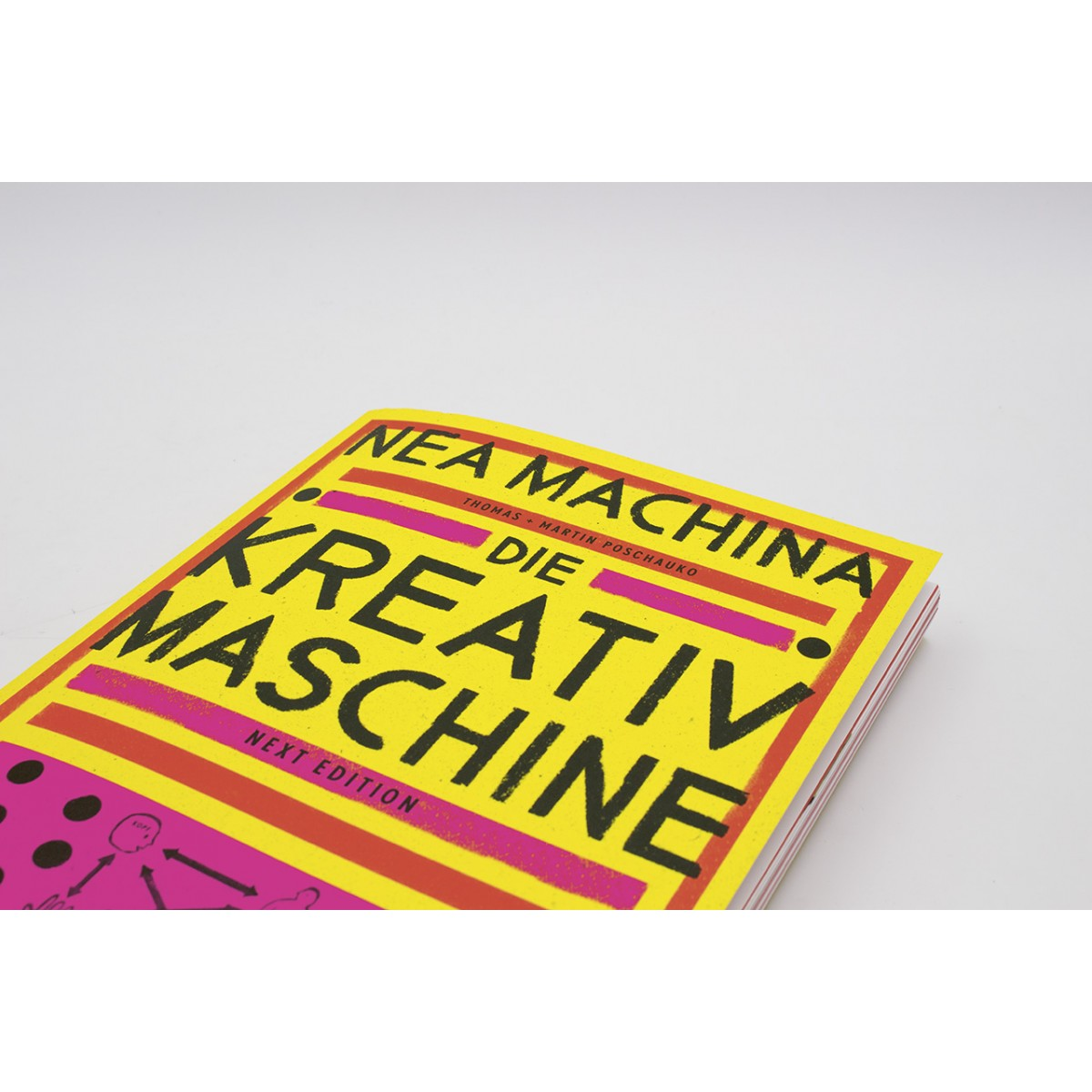 Thomas und Martin Poschauko »NEA MACHINA - Die Kreativmaschine. Next Edition.«
