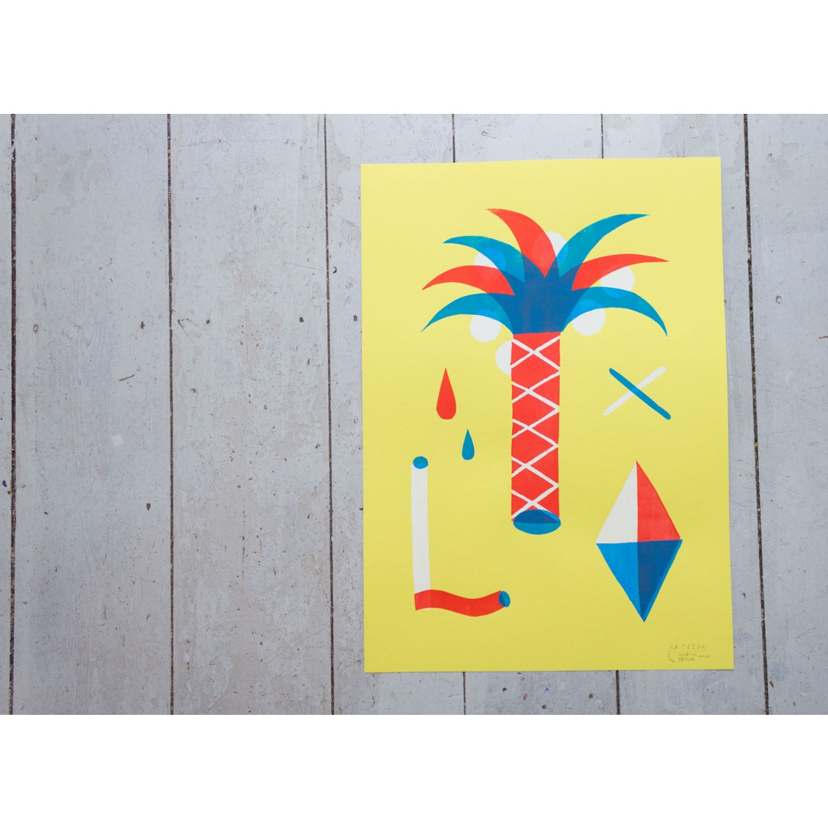 Stencil Artprint »Nizza«