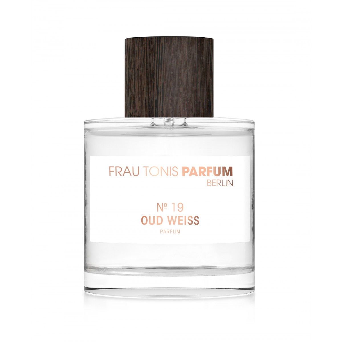 Frau Tonis Parfum No. 19 OUD WEISS (Sinnlich, Elegant, Kostbar), 50 ml Parfum