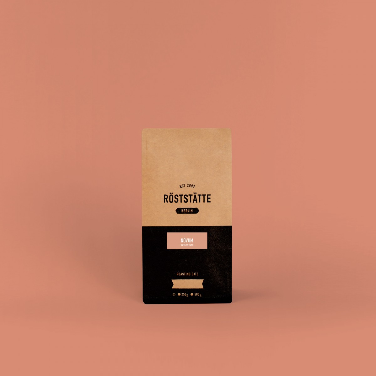 Röststätte Berlin Novum Espresso, 250g