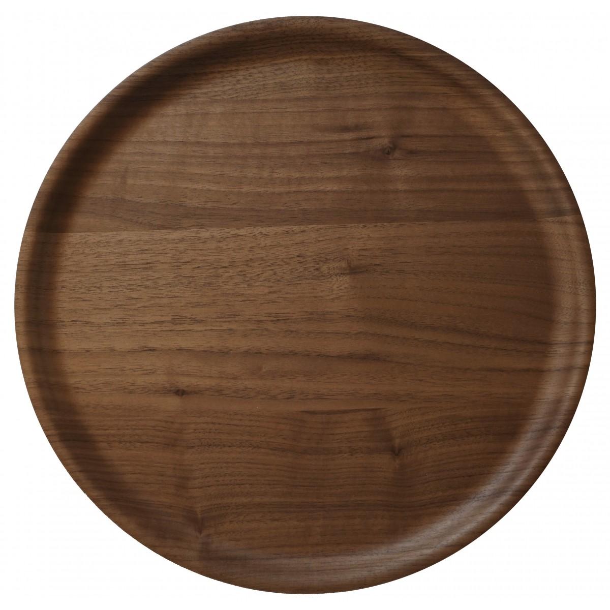 WOOD U? Servier- und Dekorationstablett aus Nussbaum