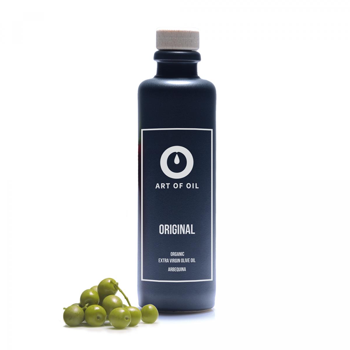 ART OF OIL Biologisches Extra Virgin Olivenöl - Original (200ml)