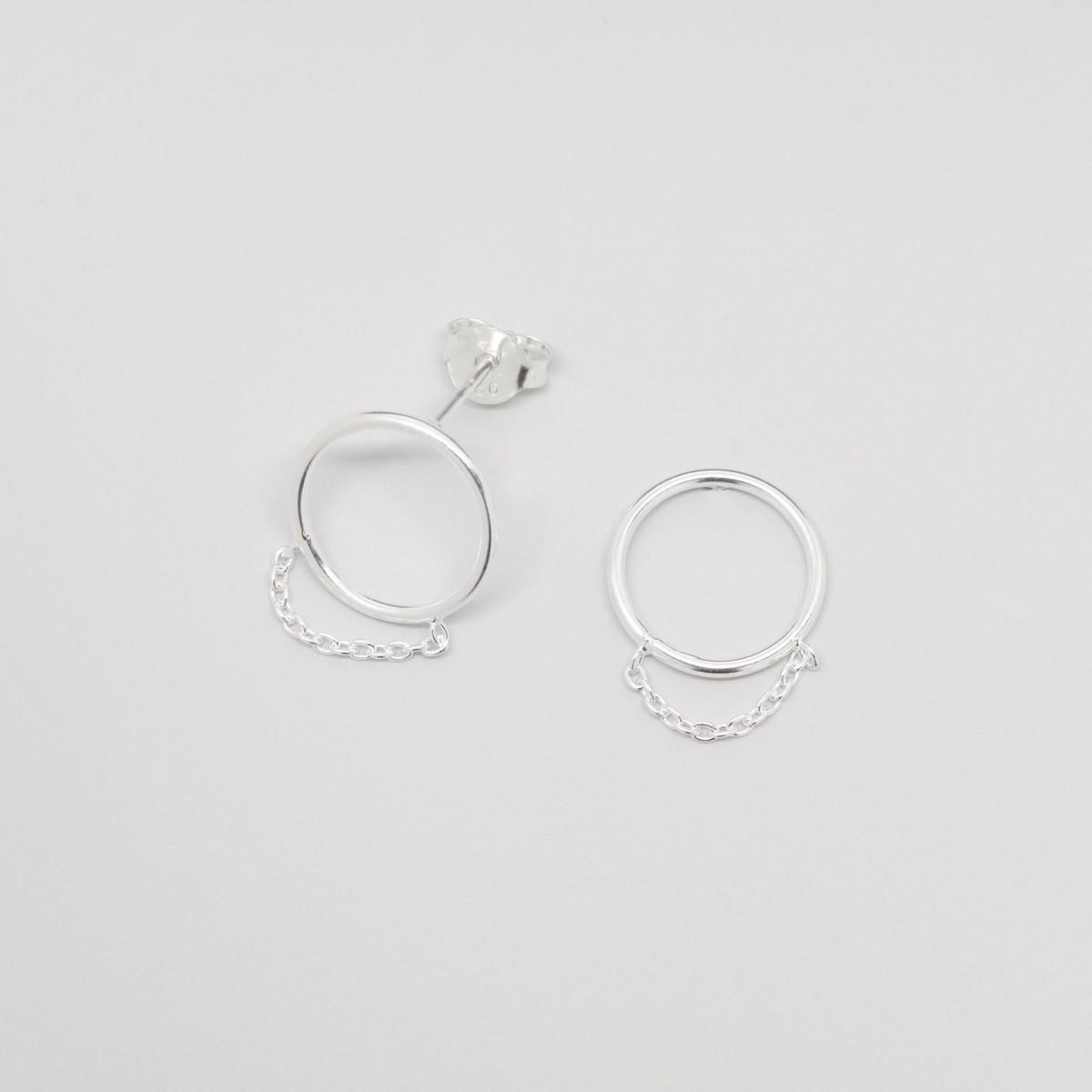 fejn jewelry - Ohrstecker 'filigree chain'