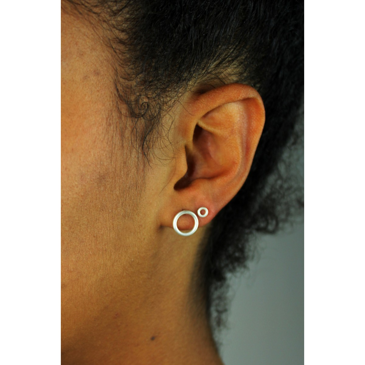 LUCIA DAFFNER jewelry - Ohrstecker KREIS (gross)