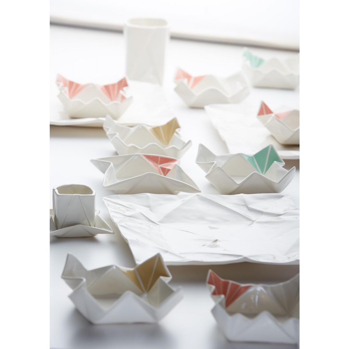 moij design Origami Snackschalen farbig