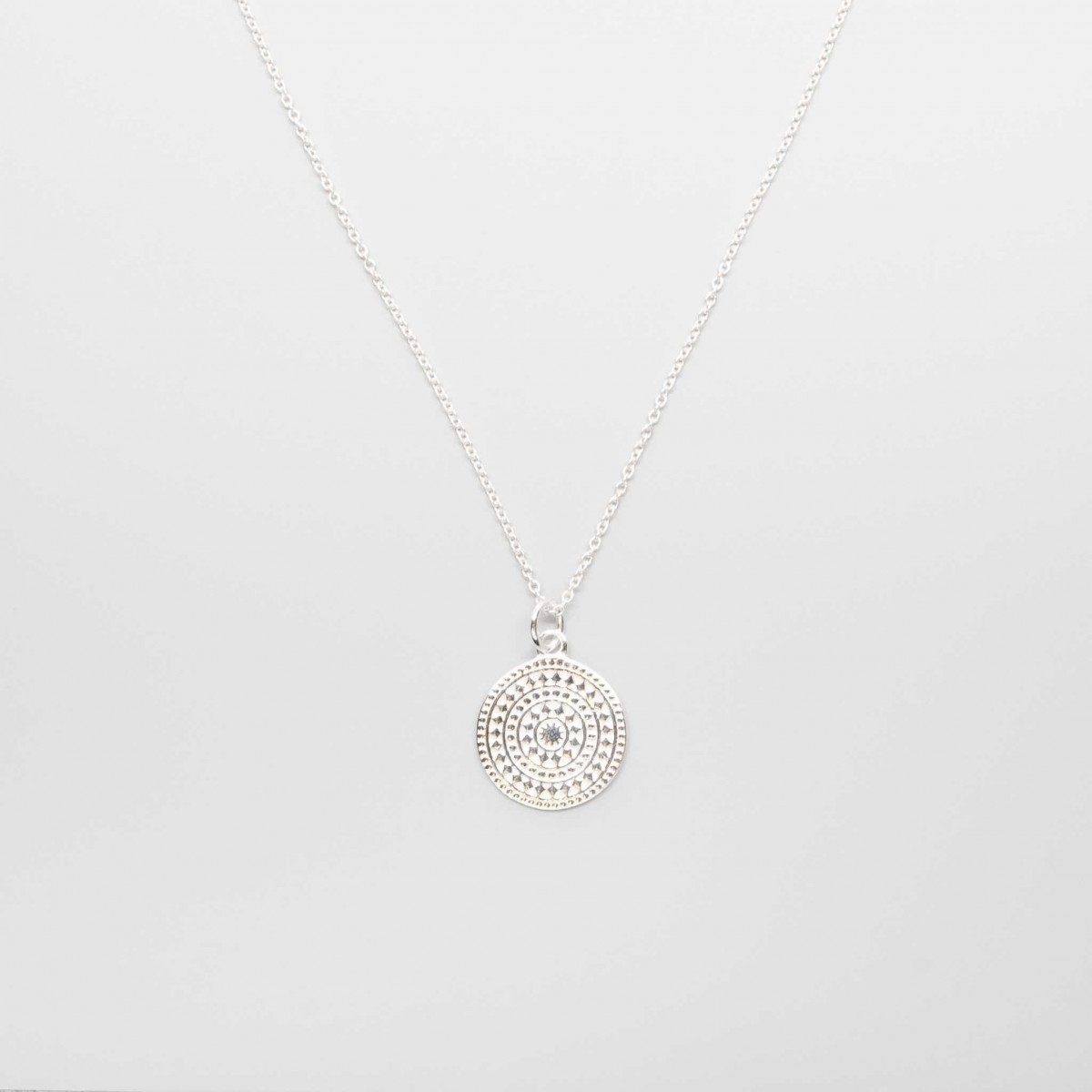 fejn jewelry - Ornament Necklace Silber