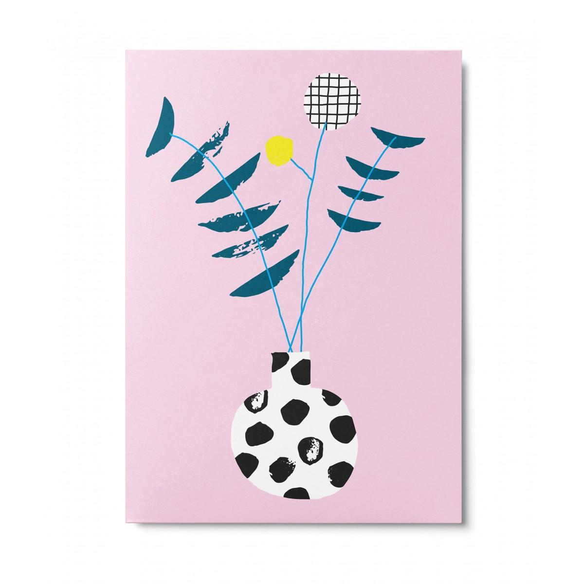UNTER PINIEN – Blumenliebe – Postkarte