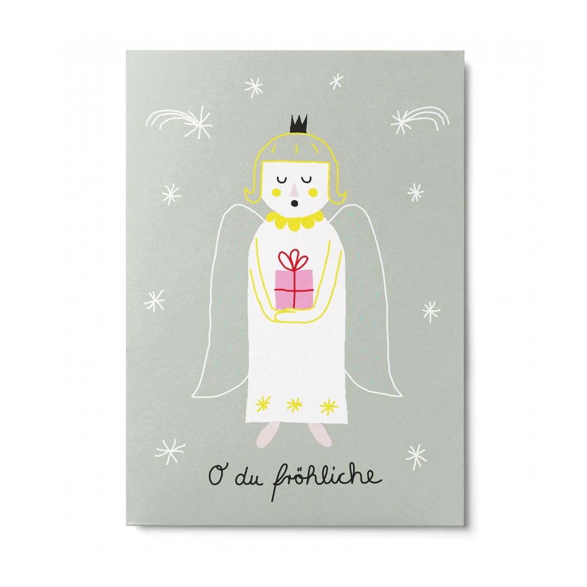 UNTER PINIEN – Engel – Postkarte