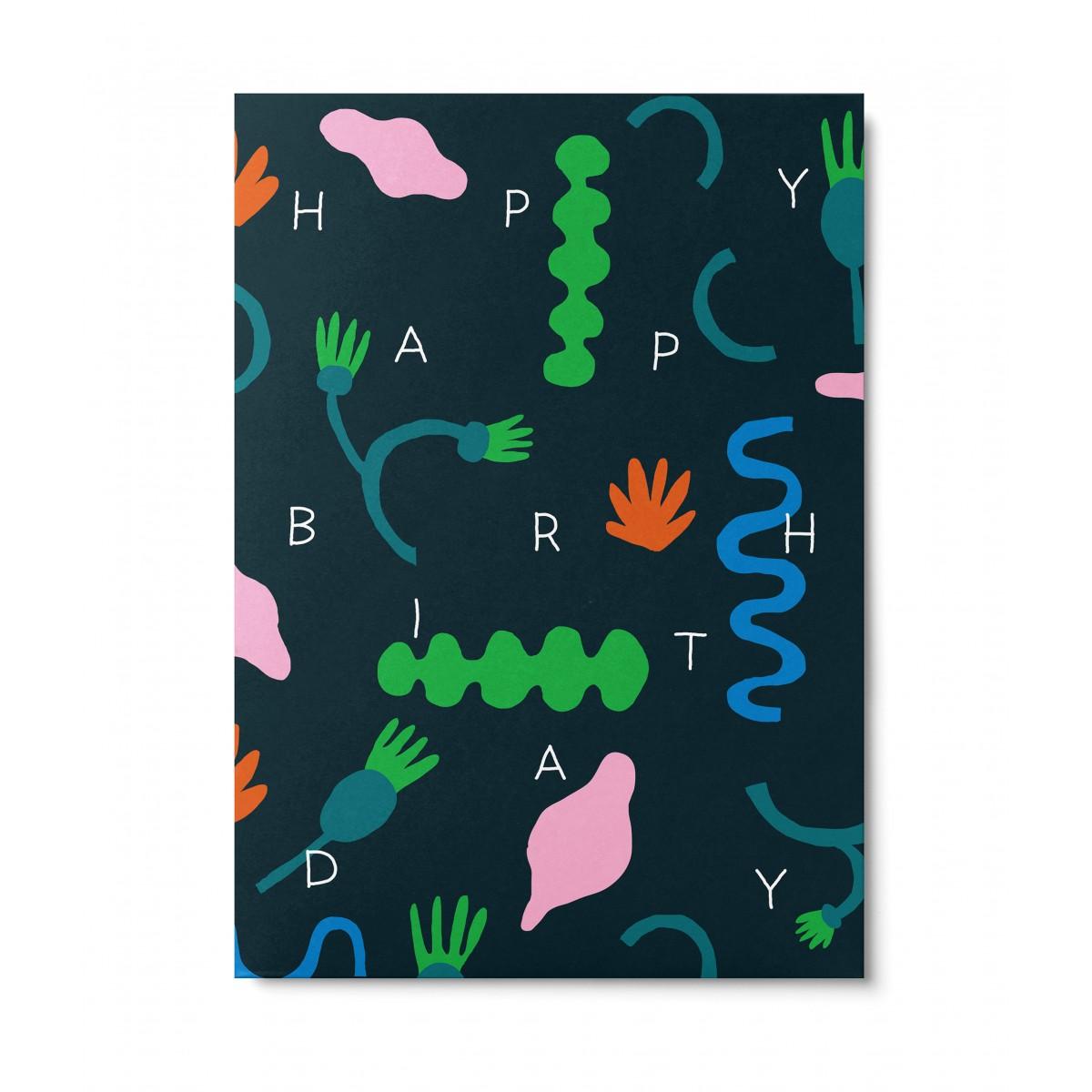 UNTER PINIEN – Seaweed Postkarte