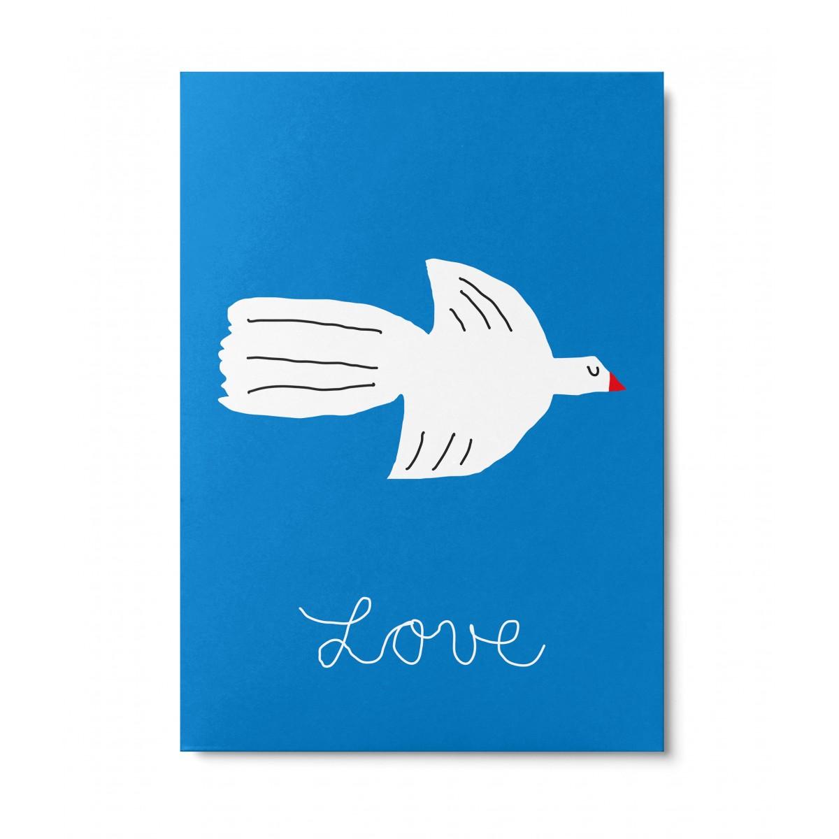 UNTER PINIEN – Lovebird – Postkarte