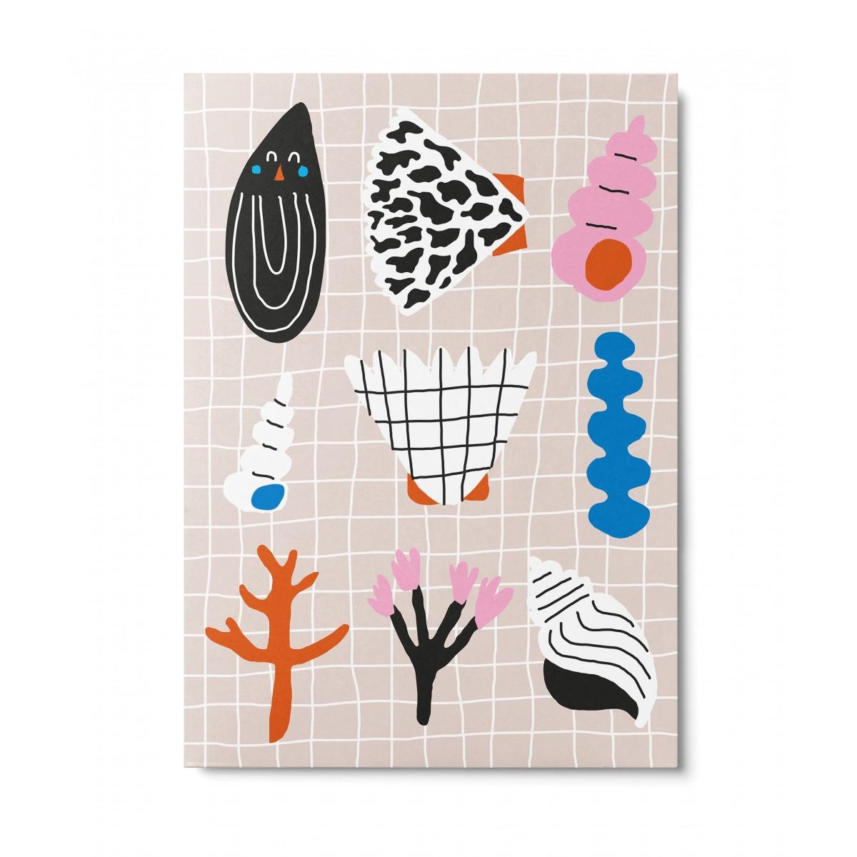 UNTER PINIEN – Moules – Postkarte