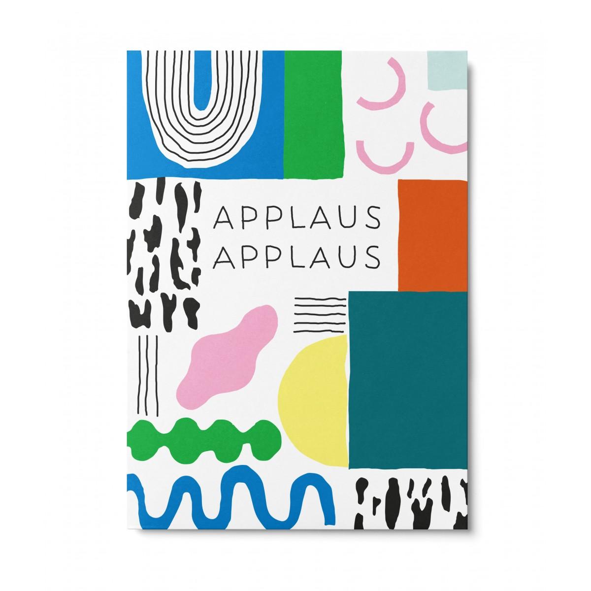 UNTER PINIEN – Applaus Applaus – Postkarte