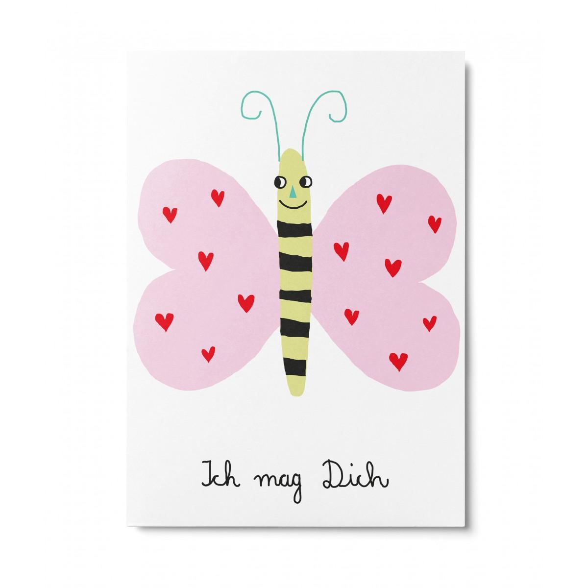 UNTER PINIEN – Ich mag Dich – Postkarte