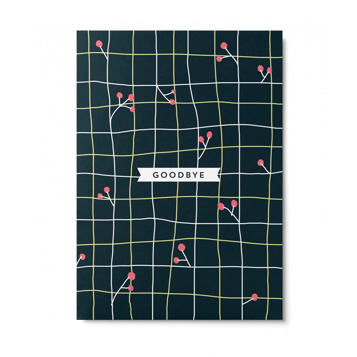 UNTER PINIEN – Goodbye – Postkarte
