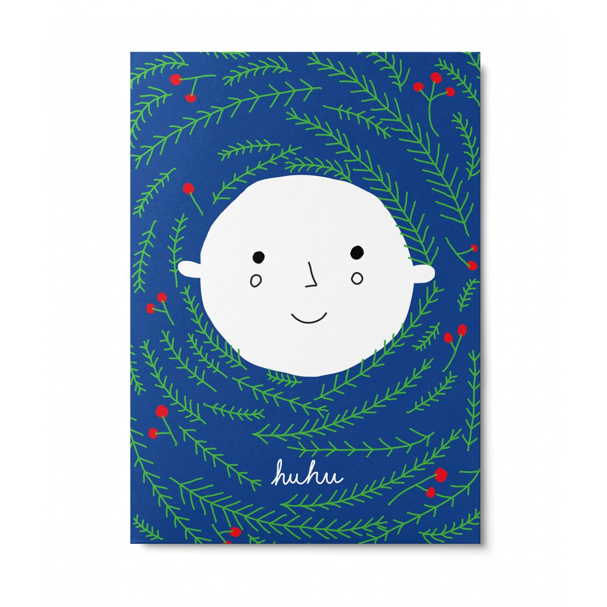 UNTER PINIEN – huhu – Postkarte