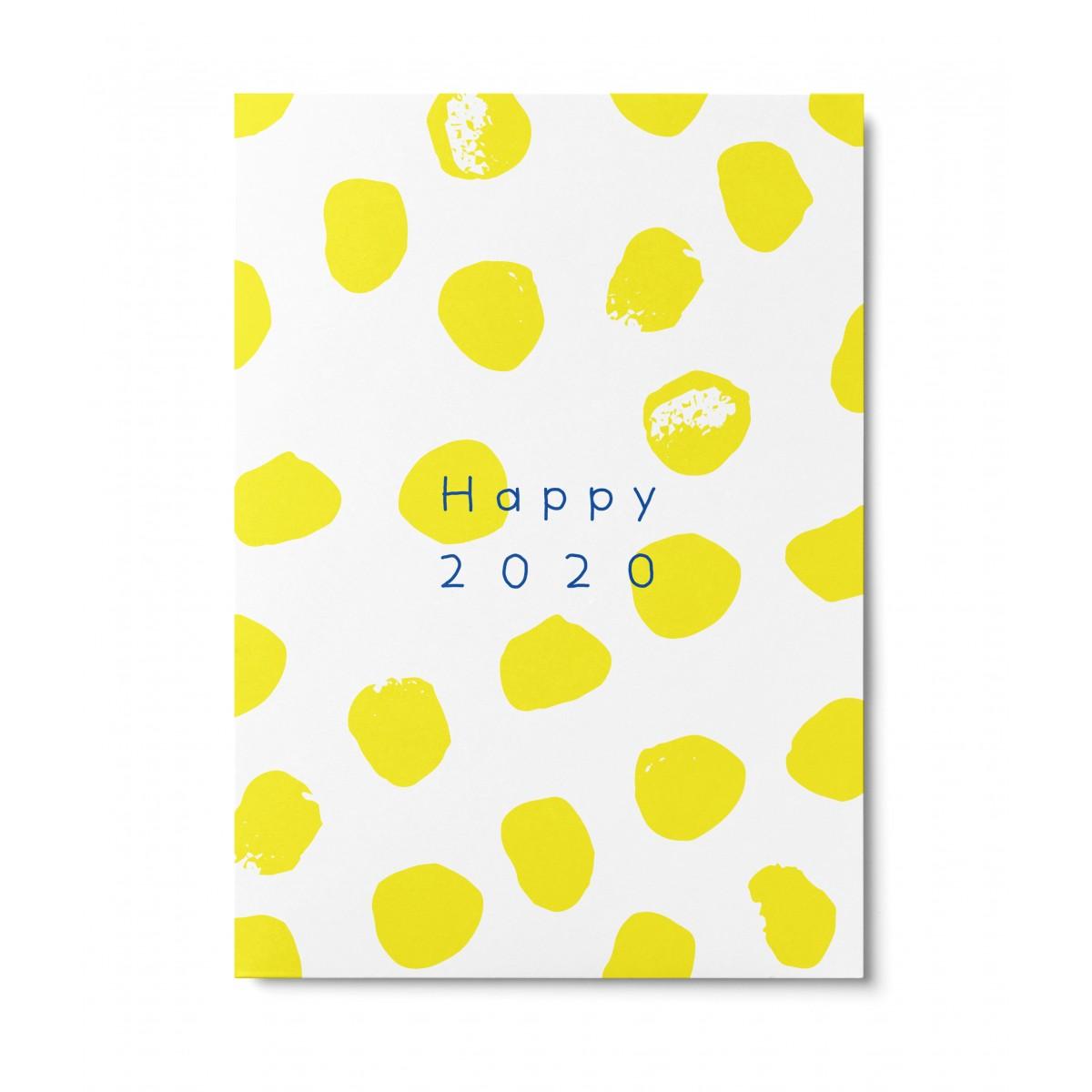 UNTER PINIEN – Happy2020 – Postkarte