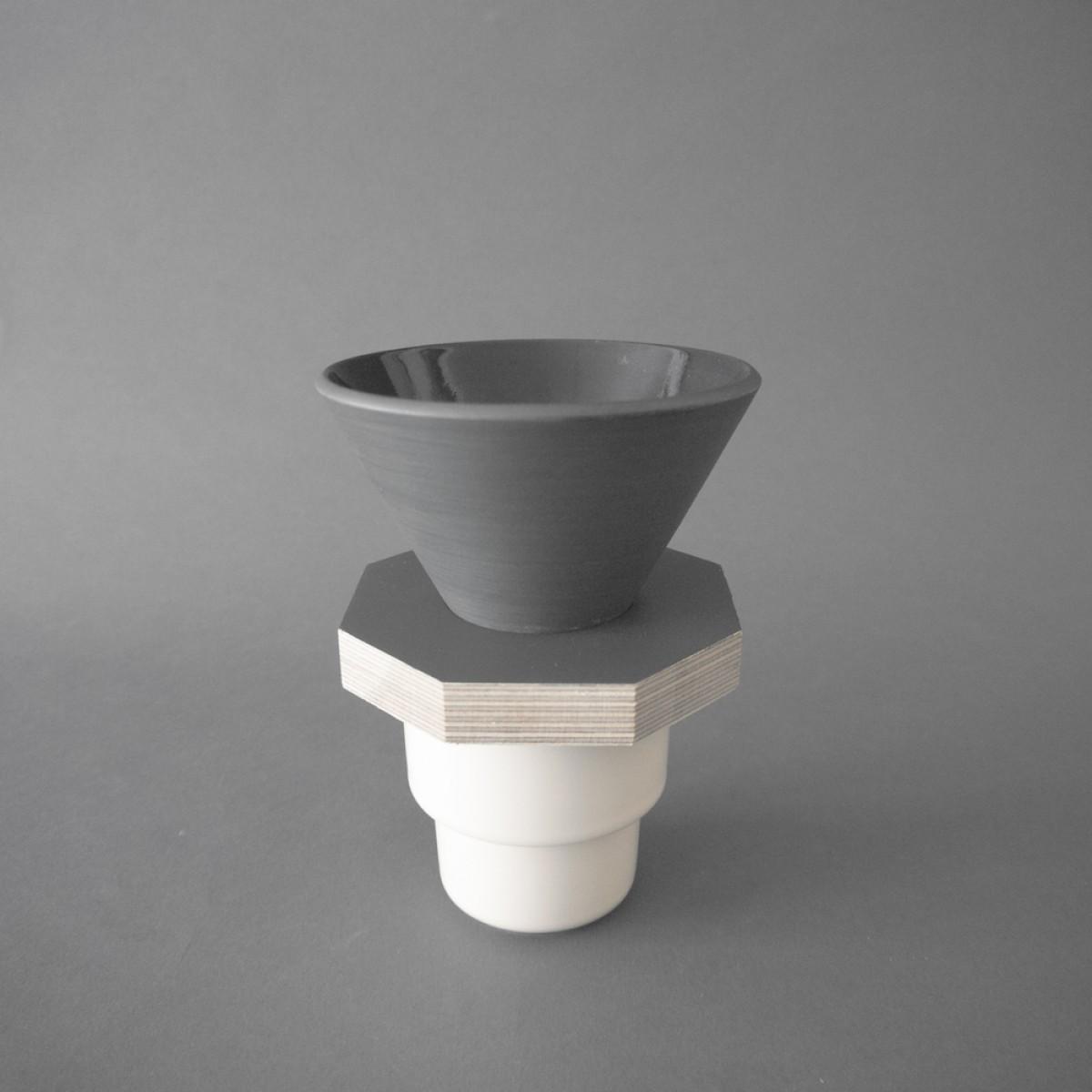 OUVER Coffee Ceramic Dripper 01