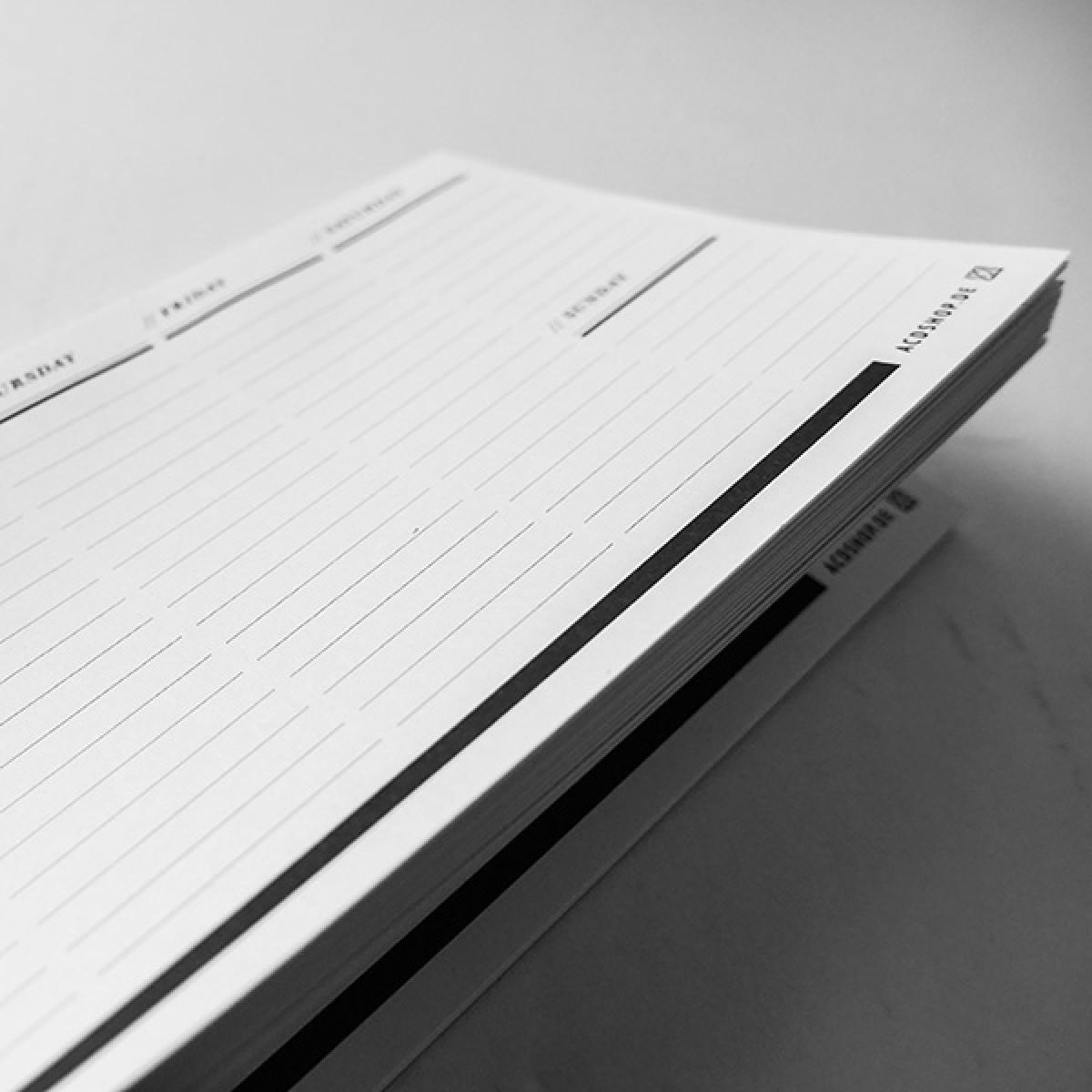 ACD DESIGN.BÜRO / Tisch-Wochenblock Universell