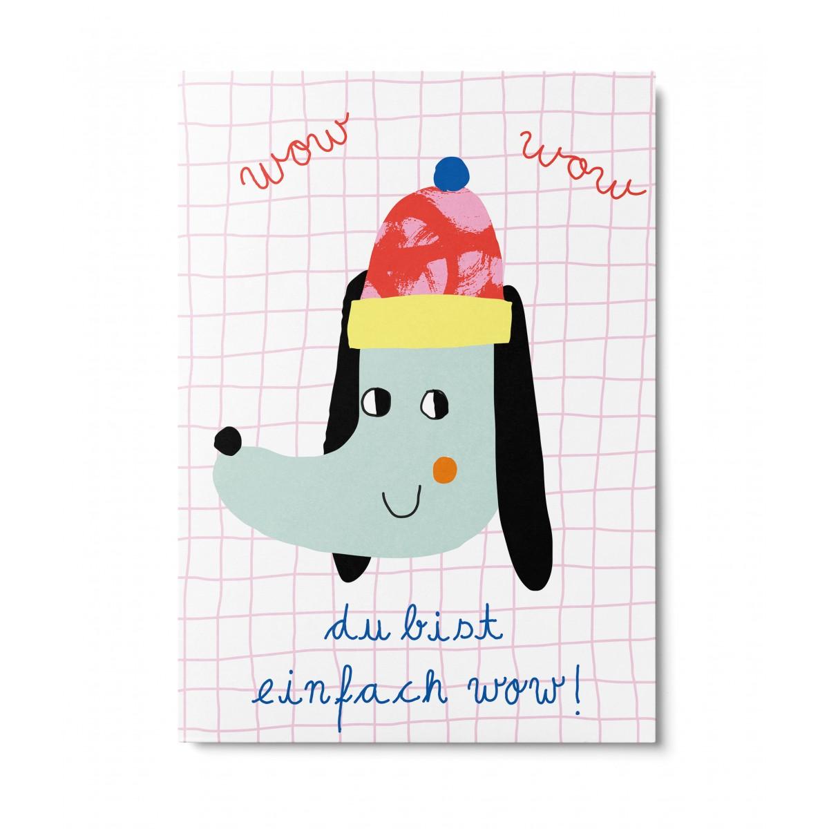 UNTER PINIEN – du bist wow! – Postkarte
