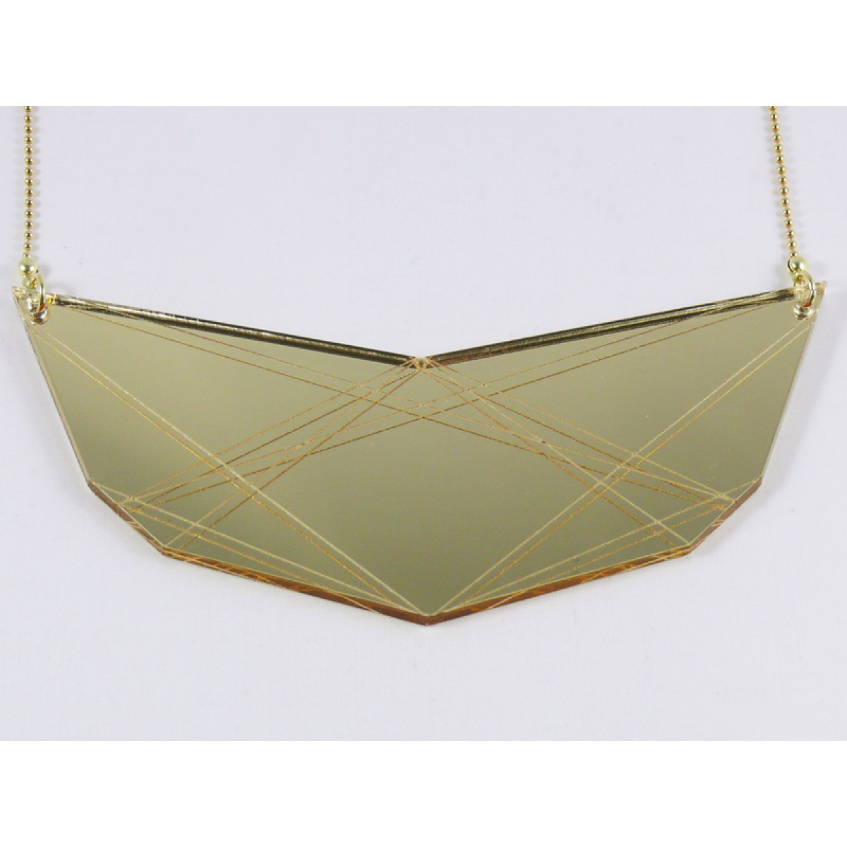 theobalt.design In.Line necklace (gold)