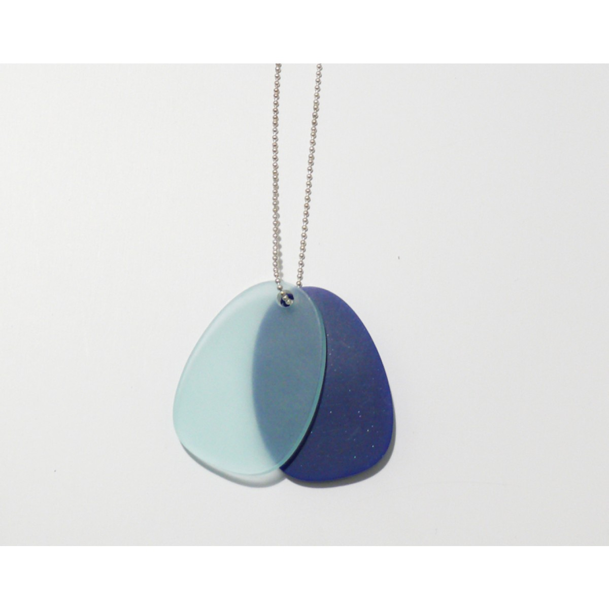 theobalt.design TAG Halskette blau