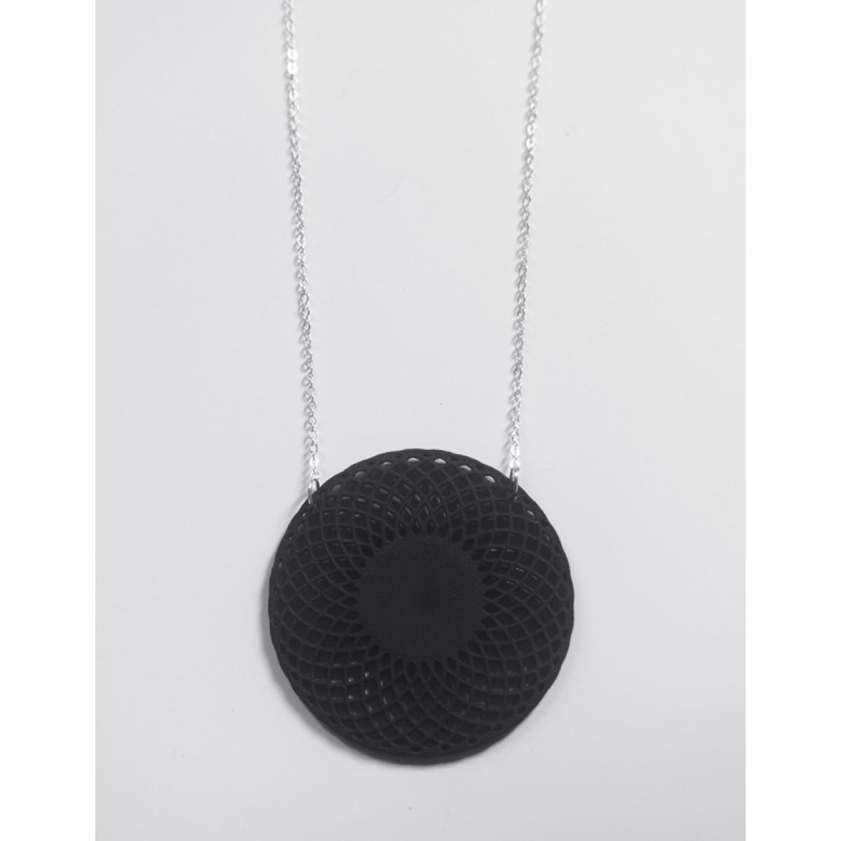 Theobalt.design Hypotrochoid Halskette schwarz