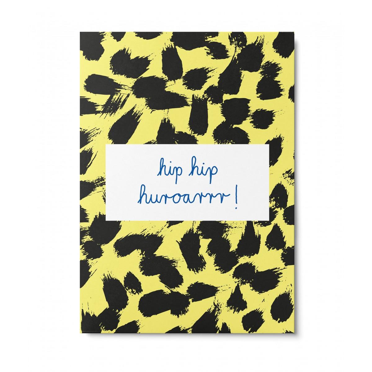 UNTER PINIEN – hip hip huroarrr – Postkarte