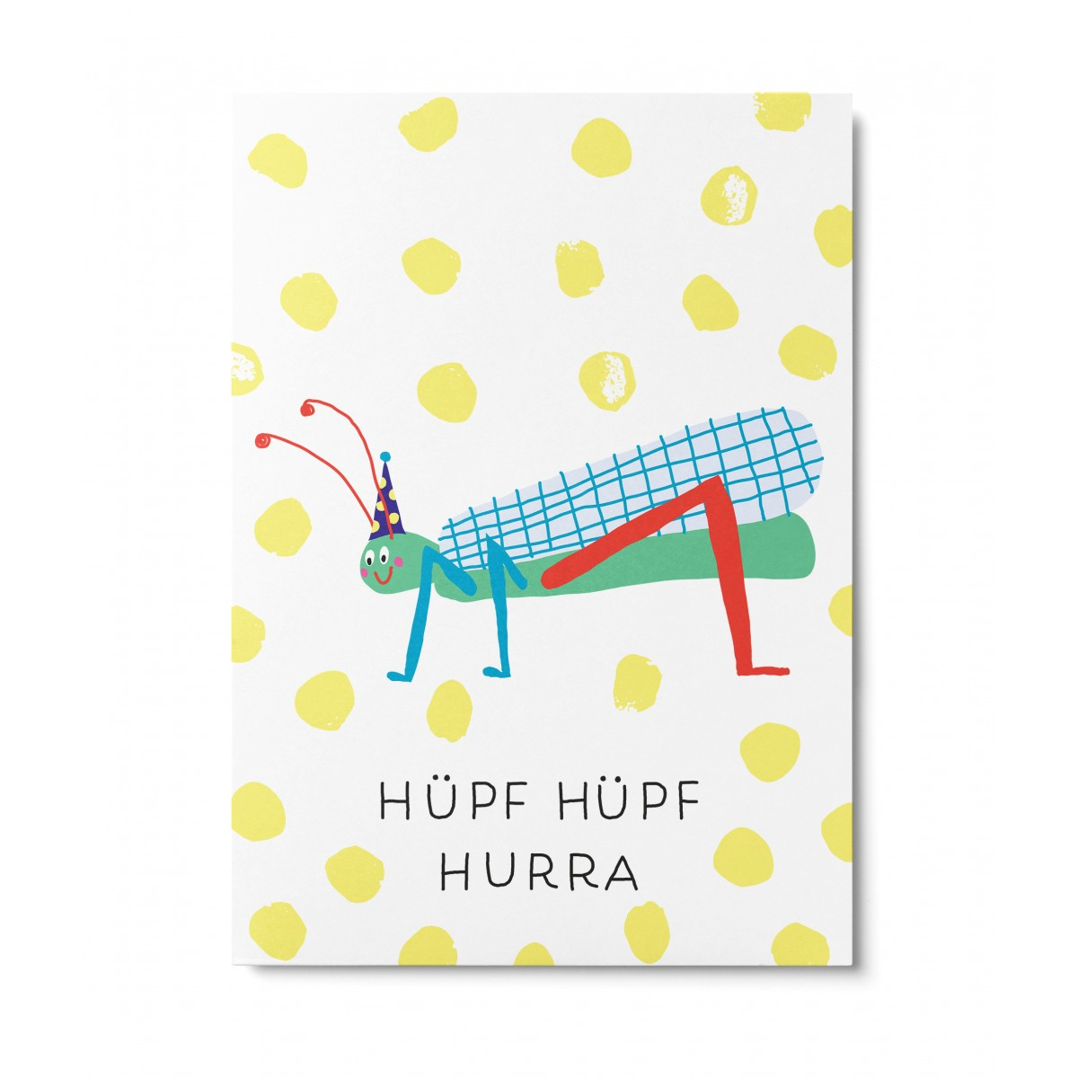 UNTER PINIEN – Hüpf Hüpf Hurra – Postkarte
