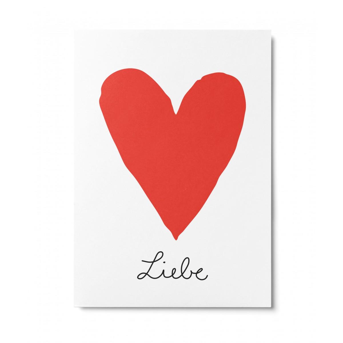 UNTER PINIEN – Liebe – Postkarte