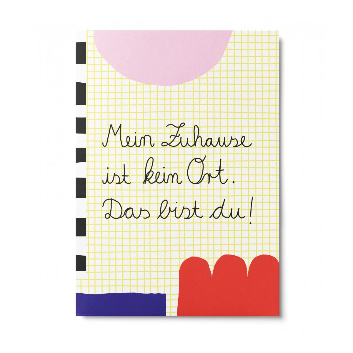 UNTER PINIEN – Zuhause – Postkarte