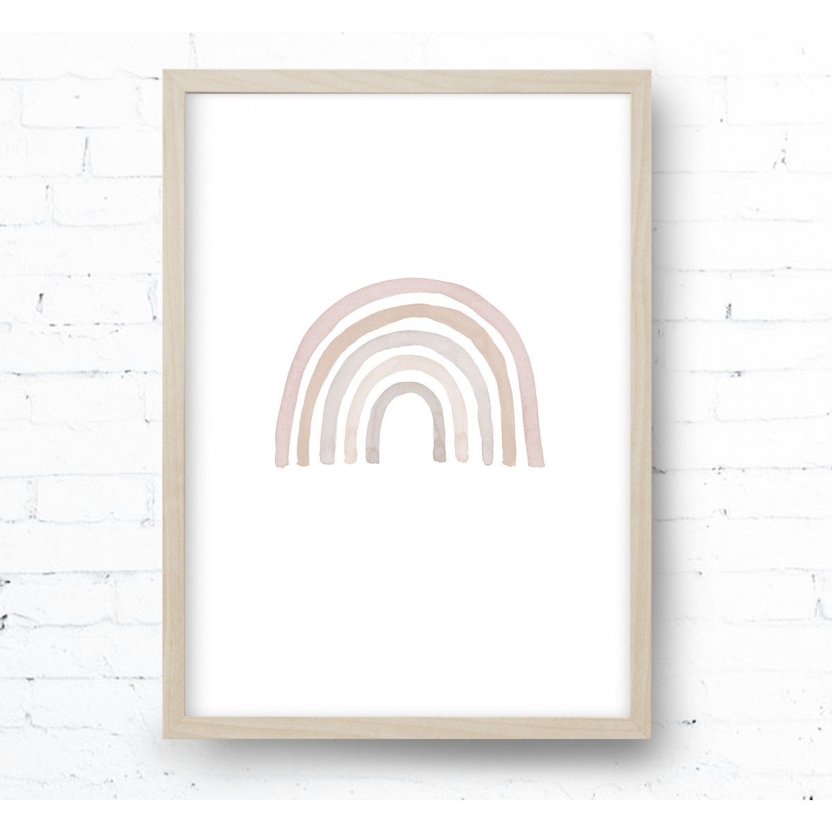 Kruth Design POSTER / PASTEL RAINBOW