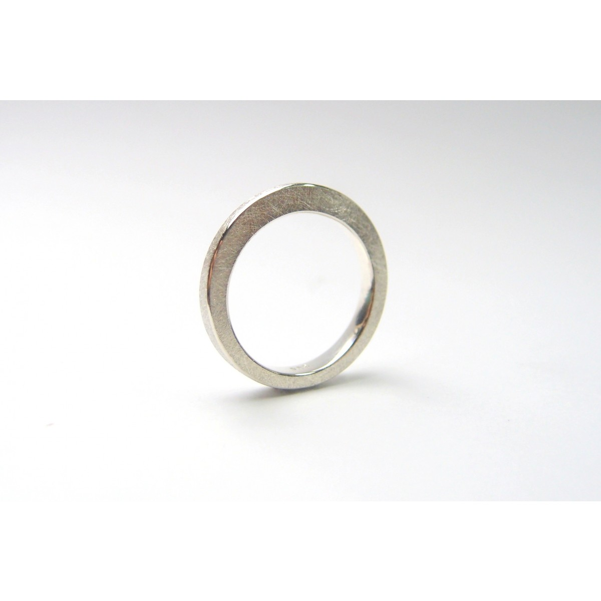 "DOPPELLUDWIG Ring ""Verformt"" aus 925/- Silber"