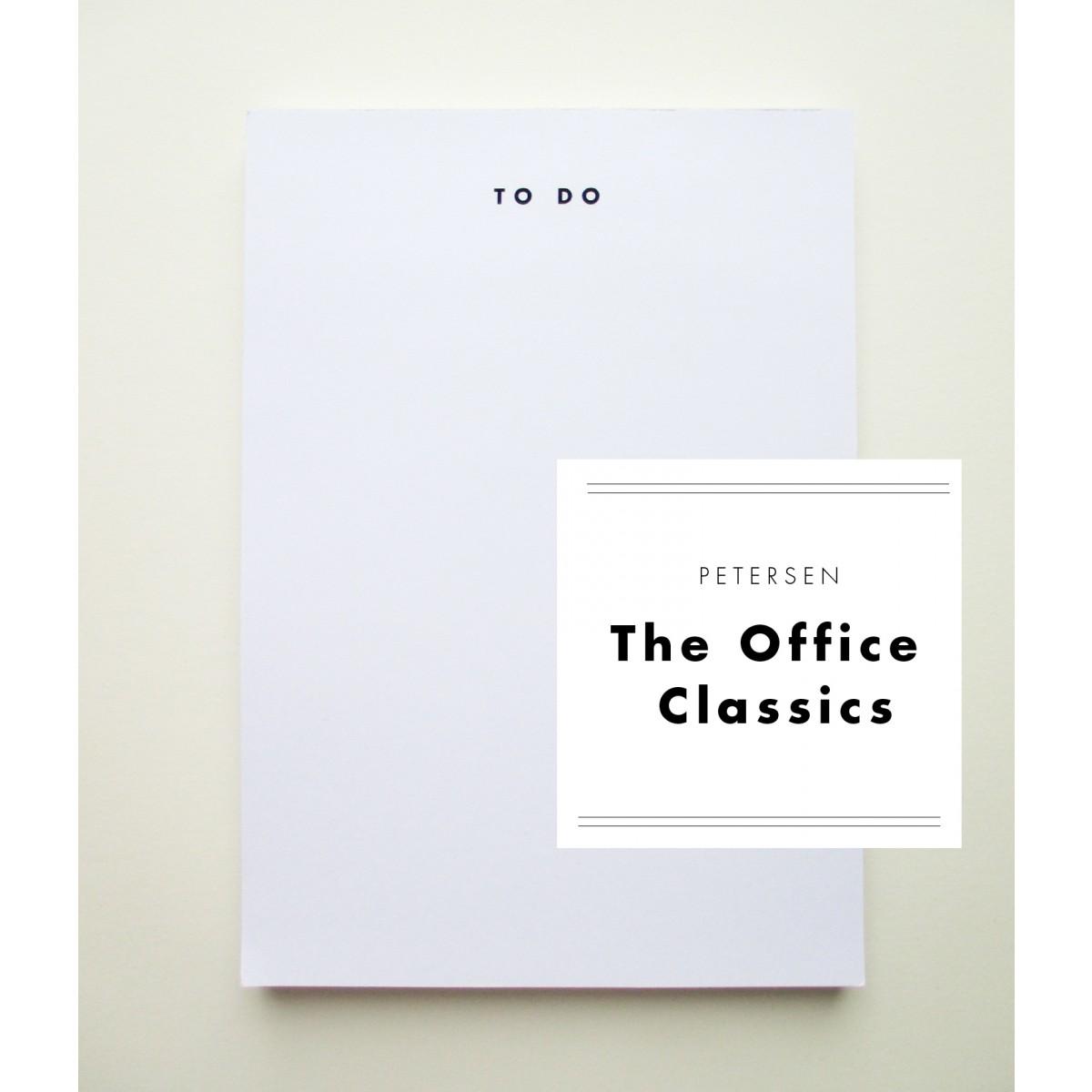 """PETERSEN """"The Office Classics"""", Schreibblock """"To do""""-Liste"""