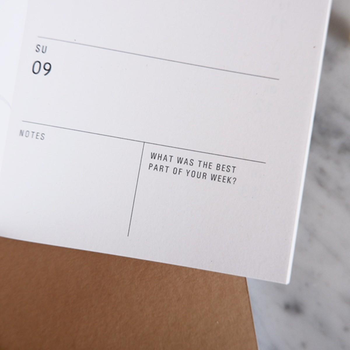 PALM LEAF - PETITE PLANNER 2020 - A6 Kalender - Anna Cosma
