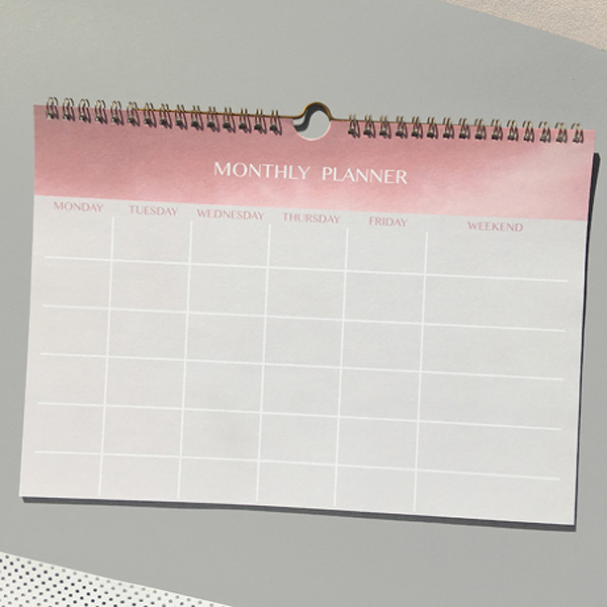 MONTHLY PLANNER - A4 WANDPLANER - ANNA-COSMA