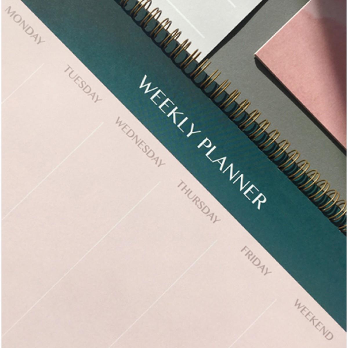 WEEKLY PLANNER - A4 TISCHPLANER - ANNA-COSMA