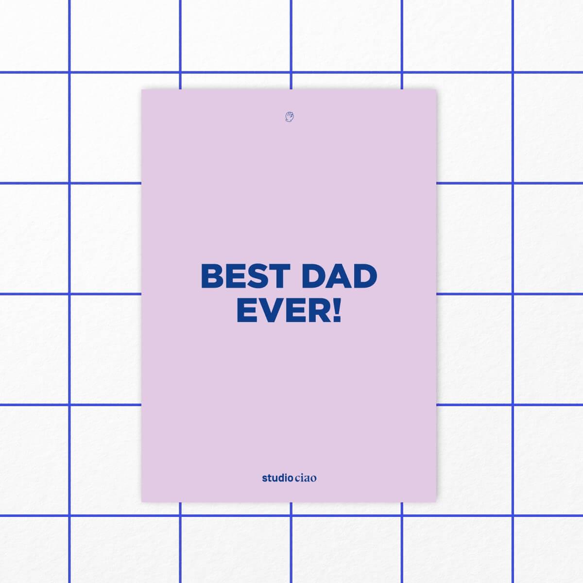 «Bester Papa» Box – studio ciao