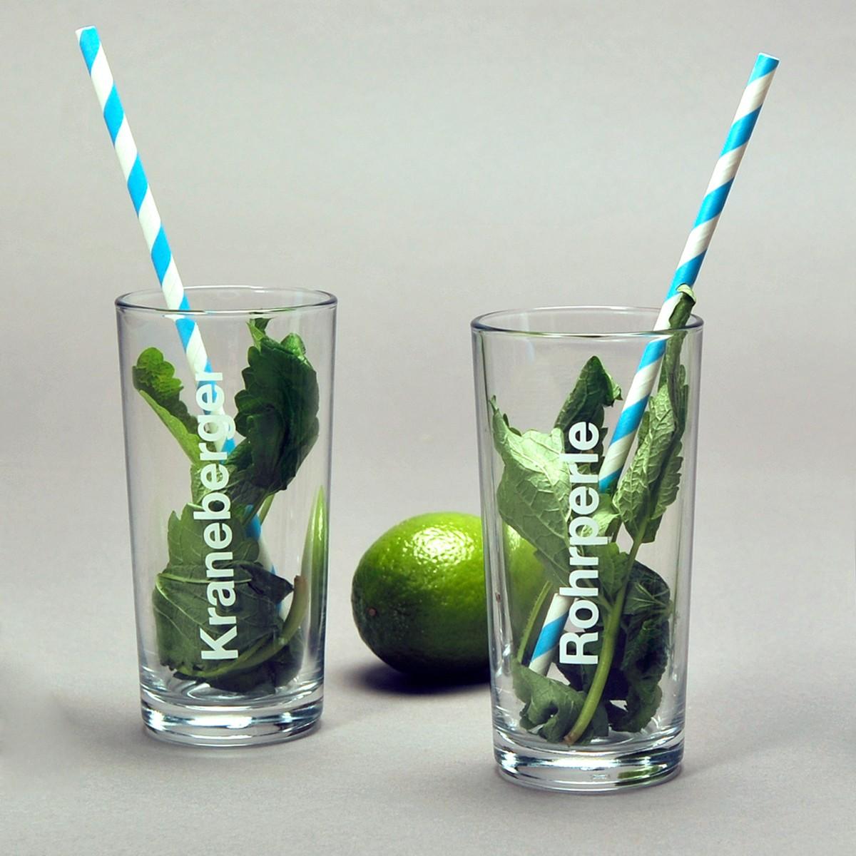 Patentgrau Wasserglas Kraneberger